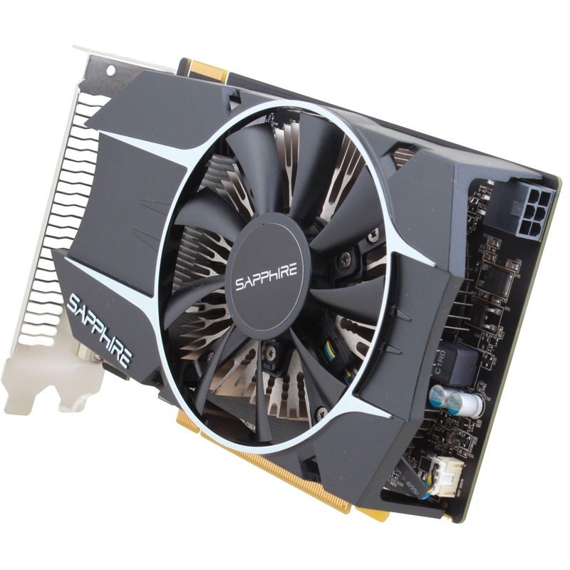 Видеокарта Sapphire AMD Radeon R7 260X 1Gb(299-1E258-101SA), б/у, 2 x DVI, 1 x HDMI, 1 x DisplayPort, Нет, R7 260X, 1x6pin, PCI Express 3.0 x16, 2560x1600, 500 Вт, 1 Гб, 128 бит, Активная, GDDR5, Дискретная, 6000, 1050, б/у