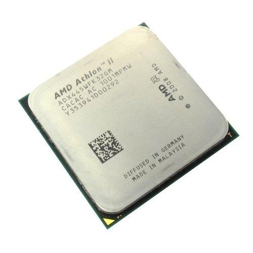 Процесор AMD Athlon II X3 445 (ADX445WFK32GM), б/в, Socket AM3, AMD Athlon, 3, 3, 3100 МГц, Нет, 90 Вт, 1,5 МБ, 45 нм