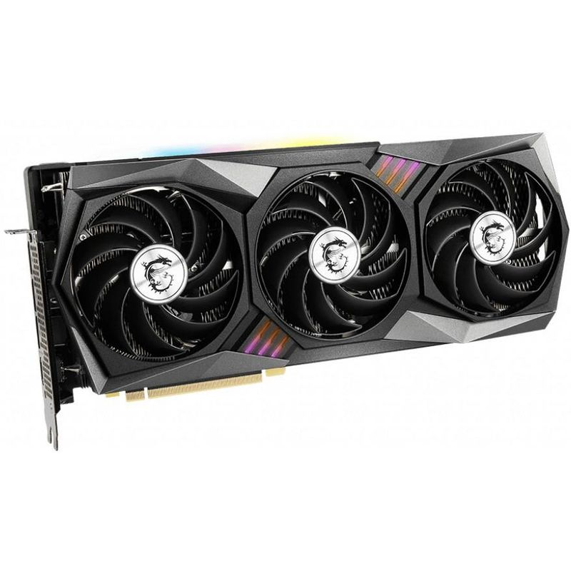 MSI RTX 3070 8Gb Gaming X Trio (GeForce RTX 3070 GAMING X TRIO), 1 x HDMI, 3 x DisplayPort, RTX 3070, 2x8pin, PCI Express 4.0 x16, 7680x4320, 650 Вт, 8 Гб, 256 бит, Активная, GDDR6, Дискретная, 14000, 1920, Новий