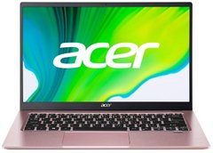 "Ноутбук Acer 14"" Swift 1 SF114-34 (NX.A9UEU.00G), 128, Intel UHD Graphics, 14"", Нет, Swift, 4, Intel Pentium N6000, 1920x1080, IPS, DDR4, Матовый, Новий"